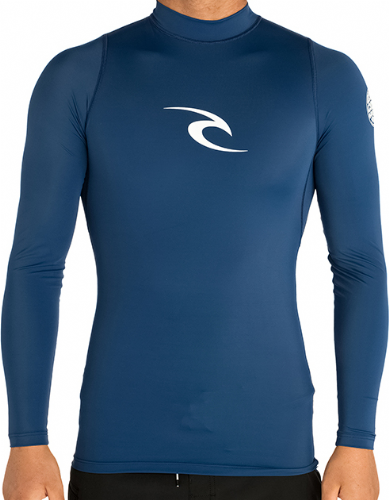 Rip Curl Long Sleeve UV Tee Rash Vest Navy